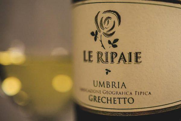 Le Ripaie Grechetto Umbria I.G.T etiket