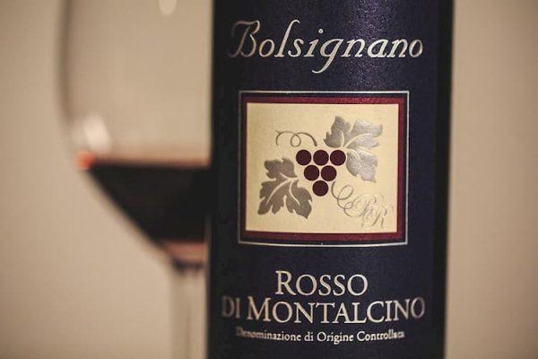 Rosso di Montalcino DOC etiket