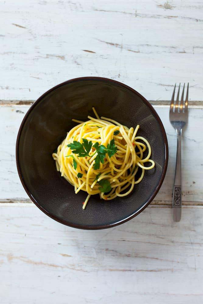 Blog afbeelding spaghetti aglio, olio e peperoncino