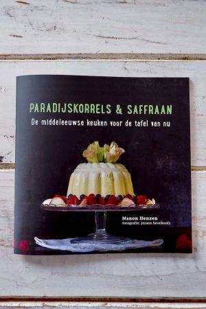 Paradijskorrels & saffraan kookboek productafbeelding