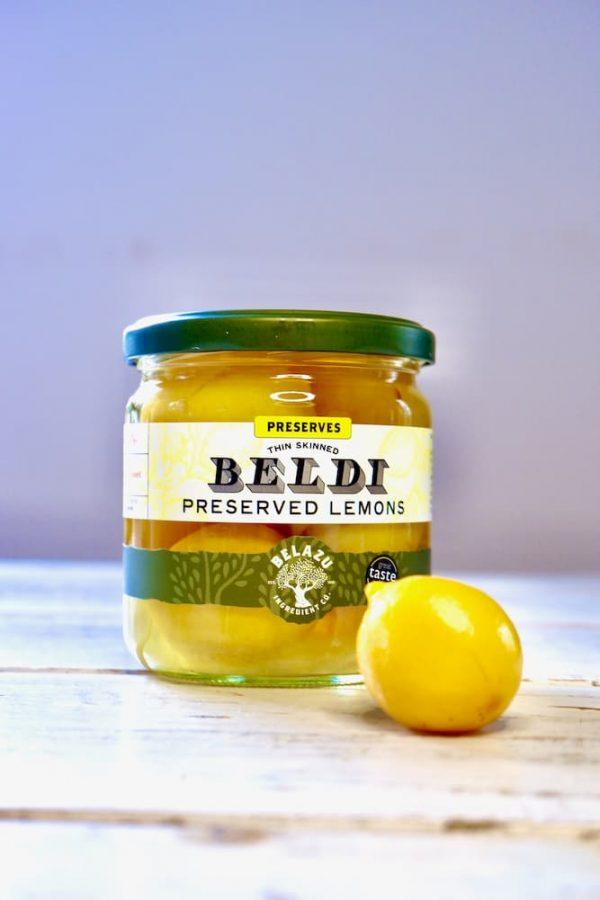 beldi citroenen, ingelegde citroenen productafbeelding