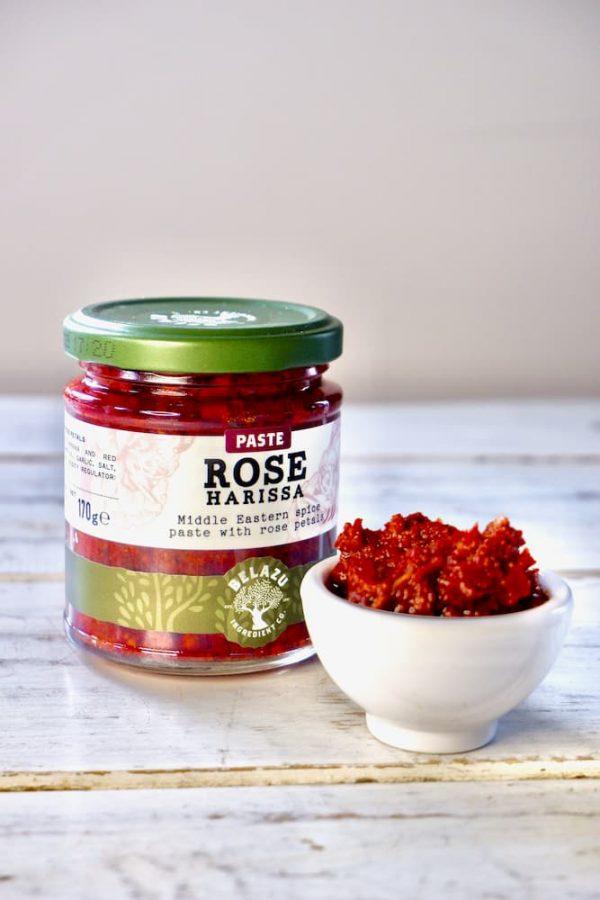 Harissa met rozenblaadjes productafbeelding