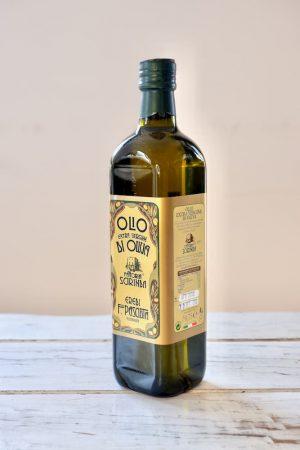 Siciliaanse olijfolie productafbeelding.