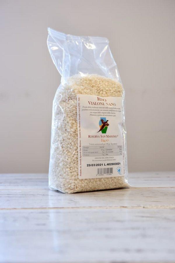 Vialone nano rijst productafbeelding
