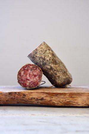 productafbeelding salami met bonenkruid.