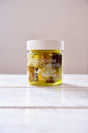 Artisjokken in olijfolie productafbeelding