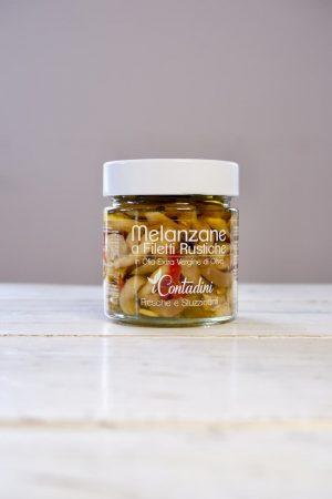 Gemarineerde aubergine productafbeelding