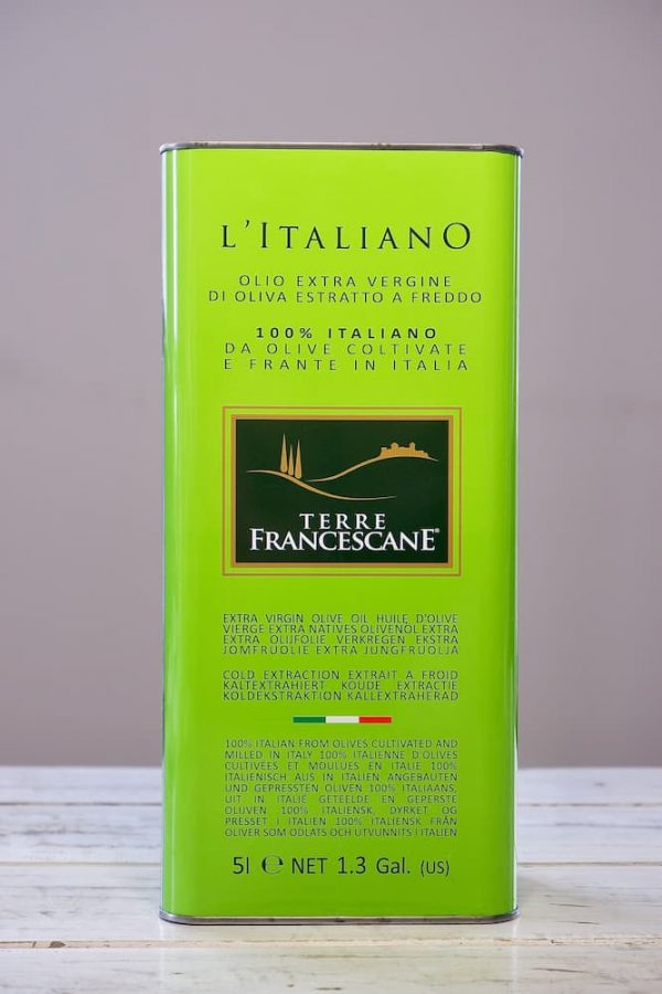 product afbeelding extra vergine olijfolie 5l. blik